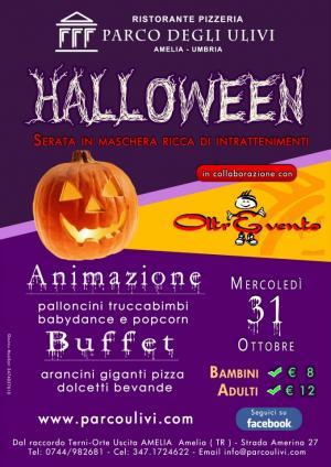 Halloween   2012 - Ristorante Parco Ulivi - Oltrevento - Amelia Terni